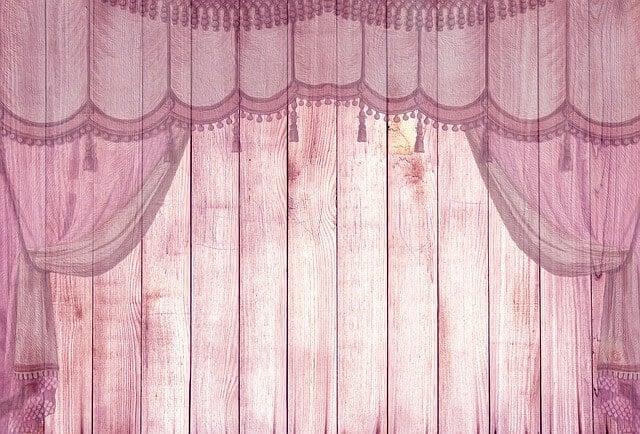 ווילונות ורודים