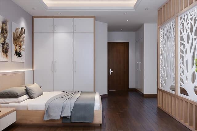 חדר שינה, ארון, מזרון זוגי.