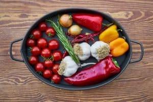 סיר עם ירקות