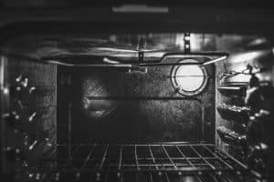 תנור, שחור, מבפנים