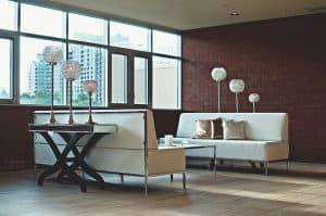 דירה, ספות, חלון.