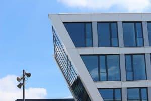 חלונות גבוהים, זכוכית, משרדים