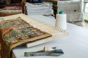 תיקון תפרים בשטיחים