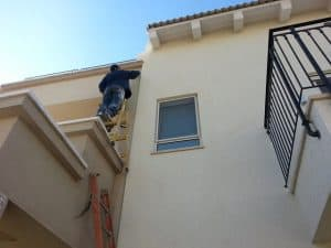 ניקוי חלונות לאחר שיפוץ