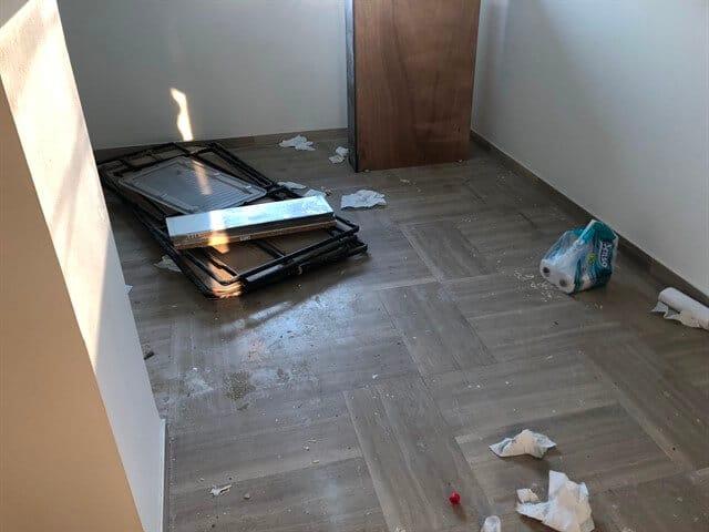 ניקיון בתים - WeClean לפני הניקיון