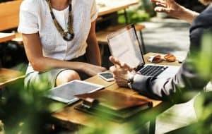 עסקים, משרד, פגישה