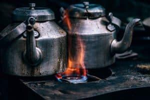 מטבח, גז, הכשרה באש