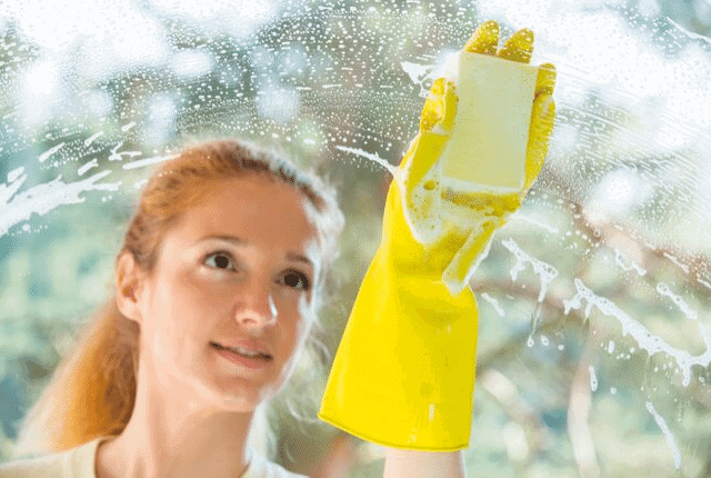 ניקיון, זכוכית, סבון