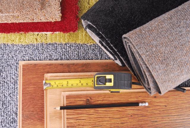 סוגי שטיחים בצבעים שונים